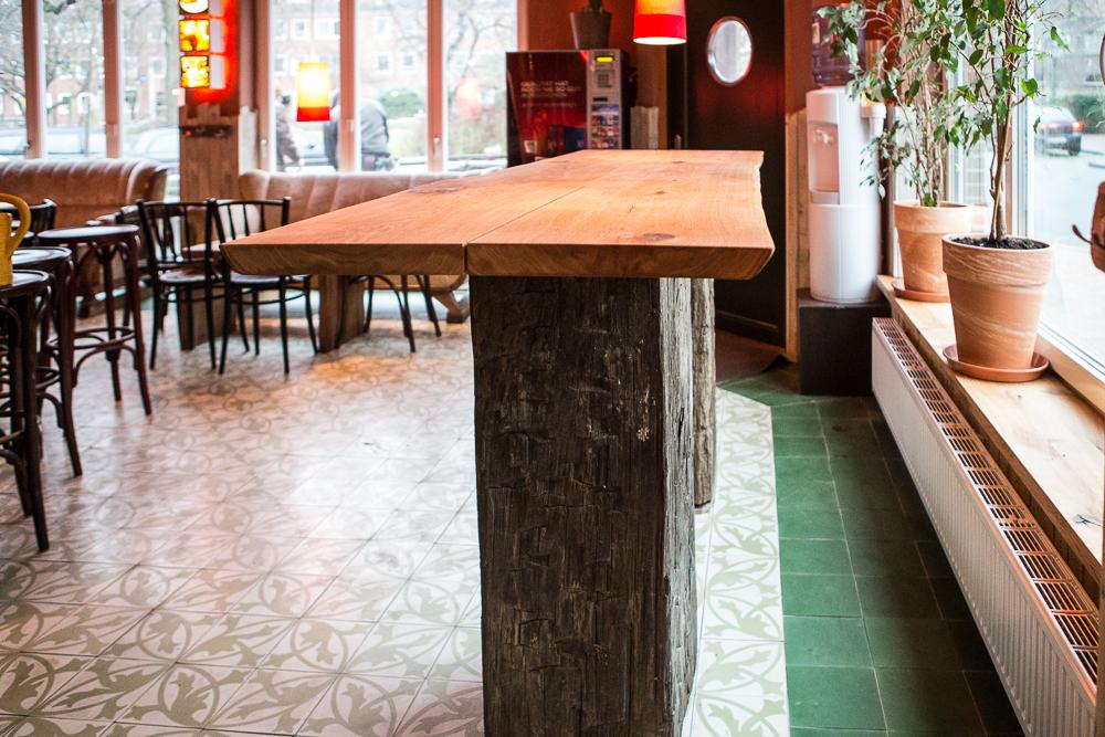 Umbau im Cafe Einstein Emden