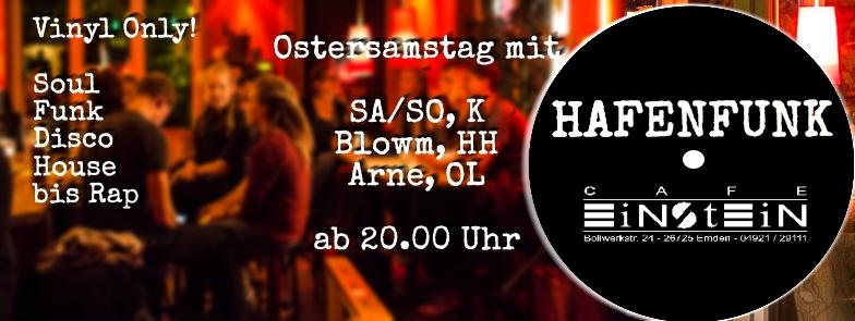 SA/SO aus Köln, Blowm aus Hamburg und Arne aus Oldenburg.
