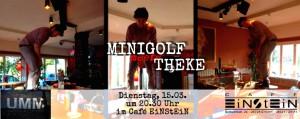 Urban Midnight Minigolf im Café Einstein