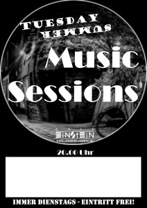 Tuesday Summer Music Sessions-Plakat