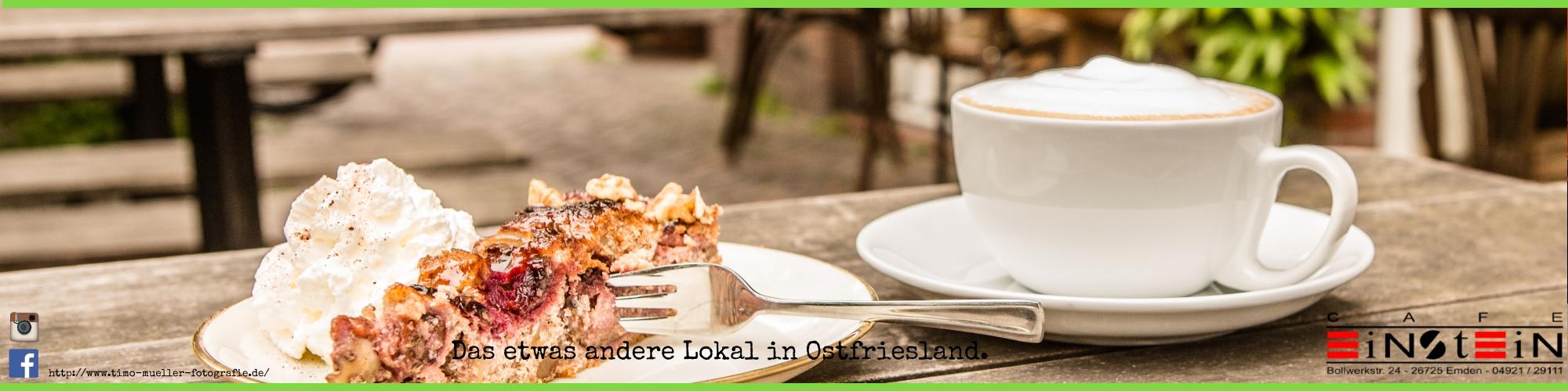 Kaffee und Kuchen in Emden